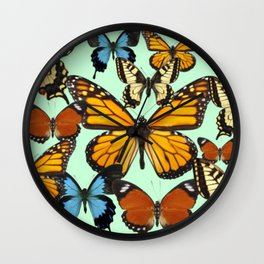 Mariposas- Butterflies Wall Clock