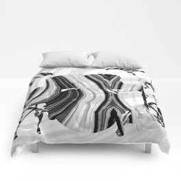 Marbled Music Art - Drums - Sharon Cummings Comforters