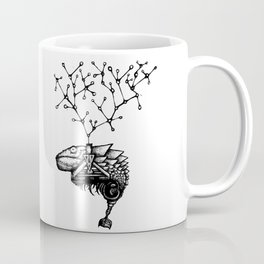 Bruce, the Genetically Modified Gecko Coffee Mug