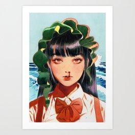 WAKAME001 Art Print