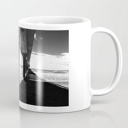 """KIWI square/ """"NEW BRIGHTON"""" Coffee Mug"""