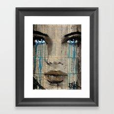 CRYSTAL BLUE Framed Art Print