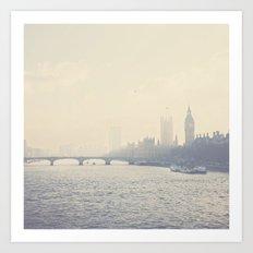the city of London ... Art Print