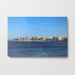 View Of Pleasure Island Metal Print