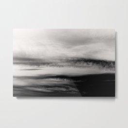 WHITE & BLACK TOUCHING #2 #abstract #decor #art #society6 Metal Print