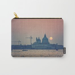 sunset at Venice under construction Carry-All Pouch