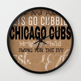 SWING FOR THE IVY Wall Clock