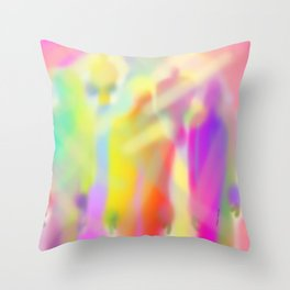SHADOWS Design Pattern Throw Pillow