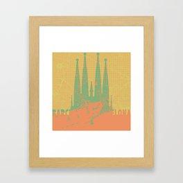 Holly Family Barcelona Framed Art Print
