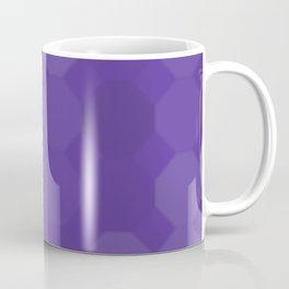 Shades of Purple Hexagons Coffee Mug