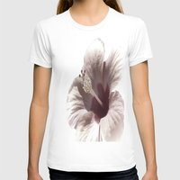 hibiscus T-shirts featuring Hibiscus by Lynn Bolt