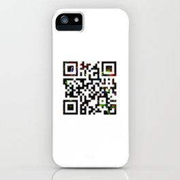 Quick Response iPhone Case