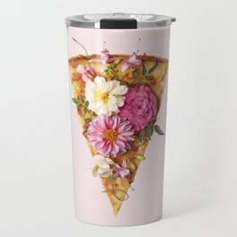 FLORAL PIZZA Travel Mug