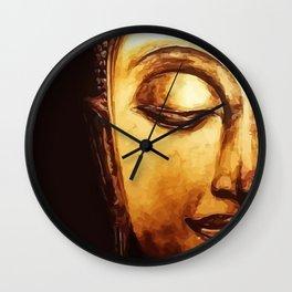 Buddha Meditation Wall Clock