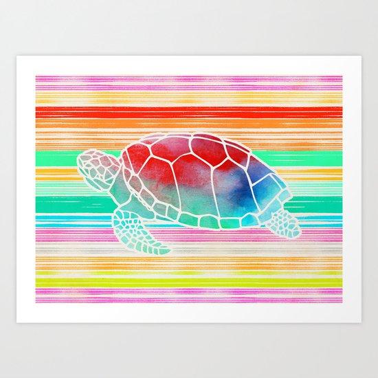 Turtle  by Jacqueline Maldonado & Garima Dhawan Art Print