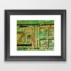 Electronic Integration VIII Framed Art Print