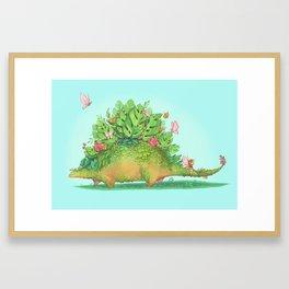 Stegoforest Framed Art Print