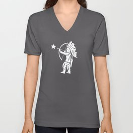 Indian Shooting Star Unisex V-Neck