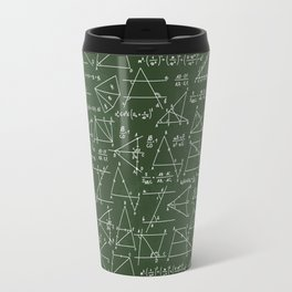 Geek math pattern Travel Mug
