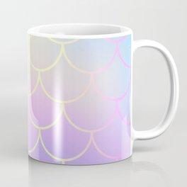 Pink Blue Mermaid Tail Abstraction Coffee Mug