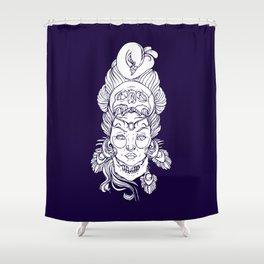 Moni Vando Shower Curtain