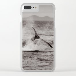 Whale Watching - Humpback Whale Clear iPhone Case