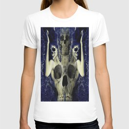 abstract skull girls T-shirt
