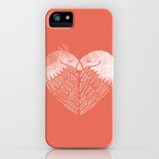 Love birds sitting on a tree iPhone (5, 5s) Slim Case