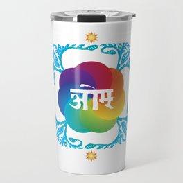 OM Mandala Travel Mug