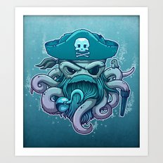 The Legendary Arrrctopus Art Print