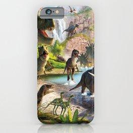 Jurassic dinosaur iPhone Case