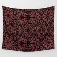 gothic Wall Tapestries featuring GOTHIC by 2sweet4words Designs