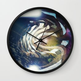 """Departure"" Wall Clock"