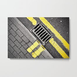 Grid Metal Print