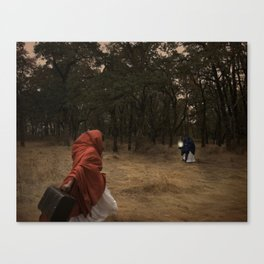 Flee Canvas Print