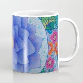 Violet Flower Mandala Coffee Mug