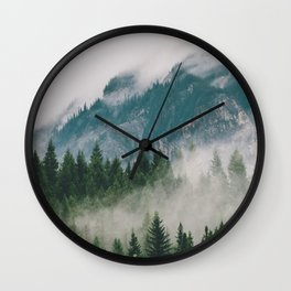 Vancouver Fog Wall Clock