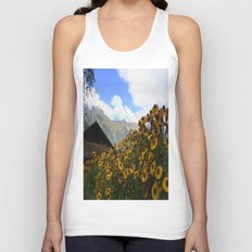 Daisies and Alps Unisex Tank Top