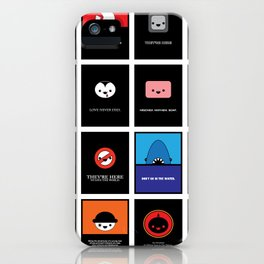 Cute Movie Posters iPhone Case