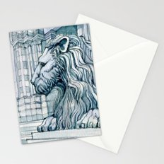 The Lion of S. Lorenzo Genoa Stationery Cards