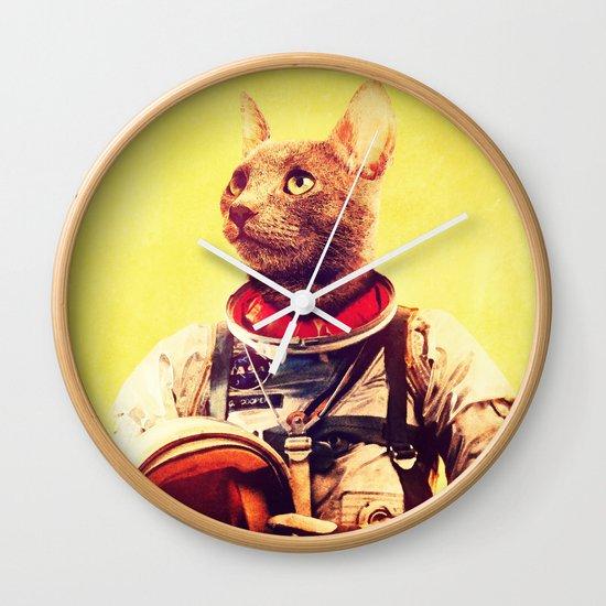 Captain Cat Wall Clock