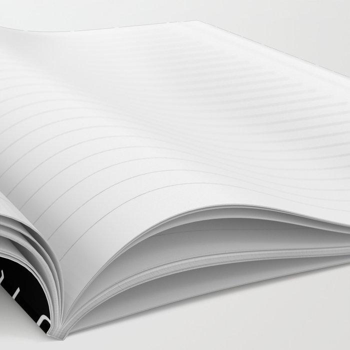gamer pattern black and white  - gaming design black Notebook