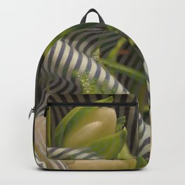 Floral bow illusion Backpack