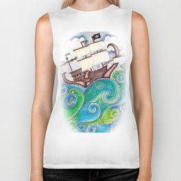 Pirate Peril Biker Tank