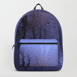 Purple Condensation Backpack