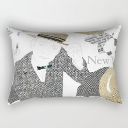 New York, 1922 Rectangular Pillow