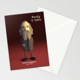 Dmitri Mendeleev Stationery Cards