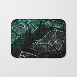 Lobster Pots Bath Mat