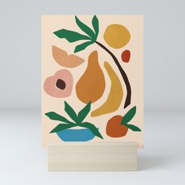 Fruit salad Mini Art Print