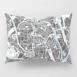 Ghent City Map I Pillow Sham